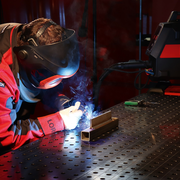 Welding in progress | © Lorch Schweißtechnik GmbH